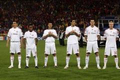 Steaua Bucharest vs Bayern Munchen Stock Photo