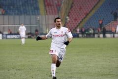 Steaua Bucharest vs Fiorentina Royalty Free Stock Image