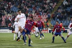 Steaua Bucharest vs Fiorentina Royalty Free Stock Photos