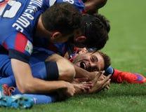 Steaua Bucharest win Romanian Cup 2015 Royalty Free Stock Photo