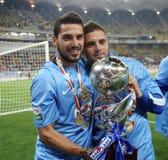 Steaua Bucharest wins Romanias League Cup Royalty Free Stock Photos