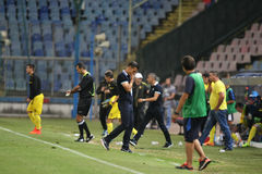 Steaua Bukarest Ceahlaul Piatra Neamt Lizenzfreies Stockbild