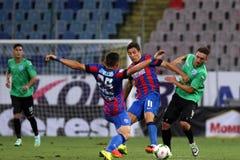 Steaua Bukarest CSU Craiova Stockbild