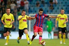 Steaua Bukarest FC Ceahlaul Piatra Neamt stockfotos
