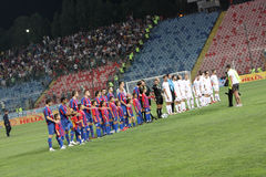 Steaua - Dinamo Fotografía de archivo