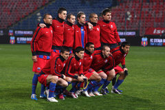 Steaua football team Royalty Free Stock Photos