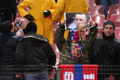 Steaua supporters Stock Photos