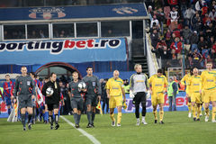 Steaua Vaslui match Royalty Free Stock Image