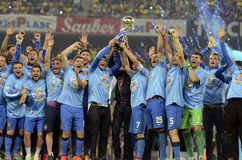 Steaua wins the Romanian League Cup Royalty Free Stock Image