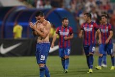 Steaua布加勒斯特Ceahlaul Piatra Neamt 免版税库存照片