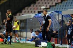 Steaua布加勒斯特CSU克拉约瓦 图库摄影