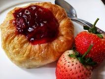 steawberry πίτα στοκ εικόνες με δικαίωμα ελεύθερης χρήσης
