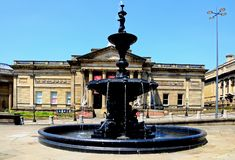 Steble Fountain, Liverpool. Royalty Free Stock Image