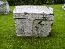 Stecak Bosnian Tombstone part of history. Stecak Stechak is the name for monumental medieval tombstones that lie scattered across Bosnia and Herzegovina, and the Stock Image