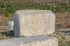 Stecak medieval tombstone Stock Images