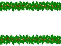 Stechpalme-Rand Stockbild