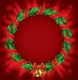 Stechpalme Wreath Stockbild