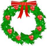 Stechpalme Wreath lizenzfreie abbildung