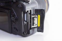 Steckplatz der Kamera Lizenzfreie Stockbilder
