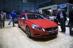Steckverbindung-Mischling Volvo-V60 Lizenzfreies Stockfoto