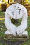 Stedelijk Beeldhouwwerk in het kustpark van Burgas, Bulgarije Royalty-vrije Stock Afbeeldingen