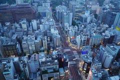 Stedelijk gebied van Tokyo Stock Foto's