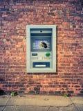 Stedelijk Gebroken ATM royalty-vrije stock foto