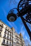 Stedelijk landschap in Barcelona stock afbeeldingen