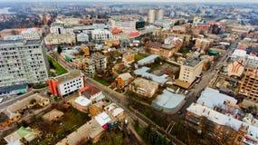 Stedelijk landschap Vinnytsia, de Oekraïne Stock Afbeeldingen
