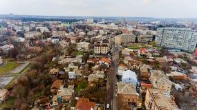 Stedelijk landschap Vinnytsia, de Oekraïne Stock Fotografie
