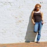 Stedelijk Meisje Stock Foto
