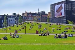 Stedelijk-Museum Amsterdam, die Niederlande lizenzfreie stockbilder