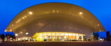 Stedelijk museum twilight panorama Royalty Free Stock Photography