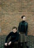 Stedelijk Paar Royalty-vrije Stock Foto