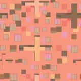 Stedelijk ritme op roze achtergrond Royalty-vrije Stock Afbeelding