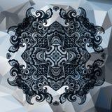Stedelijke in abstracte sierachtergrond Royalty-vrije Stock Afbeeldingen