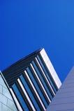 Stedelijke achitectureachtergrond Stock Foto