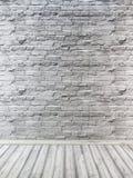 Stedelijke achtergrond, baksteen lege muur, industriële bakstenen muur met royalty-vrije stock afbeeldingen