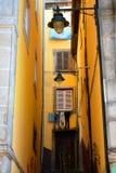 Stedelijke architectuur in het stadscentrum, Porto, Portugal royalty-vrije stock foto
