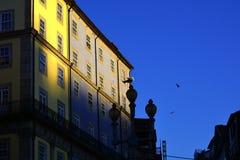 Stedelijke architectuur in het stadscentrum, Porto, Portugal royalty-vrije stock afbeelding