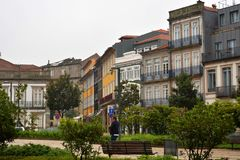 Stedelijke architectuur in Porto, Poprtugal royalty-vrije stock afbeeldingen