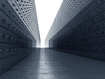 Stedelijke bouw Stock Foto's