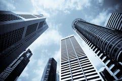 Stedelijke cityscape Stock Foto's