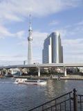 Stedelijke cityscape in Tokyo Stock Foto's