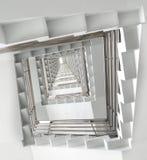 Stedelijke creatieve, Abstracte tredenfoto, abstracte stappen, graniettreden, diagonale, abstracte achtergrond, architecturale ar Royalty-vrije Stock Foto's