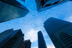 Stedelijke gebouwen Stock Afbeelding