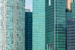 Stedelijke gebouwen Royalty-vrije Stock Foto's