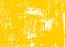 Stedelijke geel van krasgrunge, zand, de Achtergrond van zandbea Noodtextuur voor uw ontwerp Vector Stedelijke Achtergrond Eenvou vector illustratie