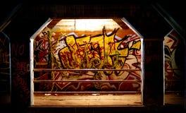 Stedelijke grafiek, Atlanta GA stock foto