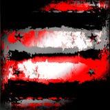 Stedelijke Grunge met Sterren Royalty-vrije Stock Fotografie